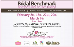 Bridal Benchmark Back 2012