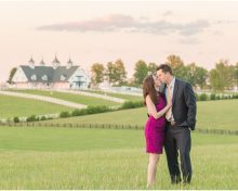 Engagement Session at Buffalo Trace and Keeneland Racecourse