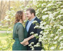 Gorgeous Spring Engagement Session at the Arboretum in Lexington, KY