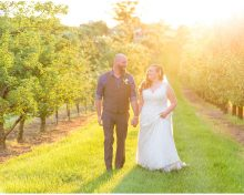 Summer Elopement at Evans Orchard in Georgetown, KY
