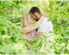 Summer Engagement Session at the Arboretum in Lexington, KY