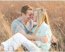 Engagement Photos at Shaker Village in Harrodsburg, KY (Adorable Photos of Their Dog Paisley)