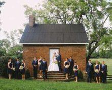 Navy Blue & Yellow Summer Wedding: Kate & Eric