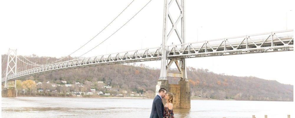 Fall Engagement Session in Downtown Maysville, Kentucky
