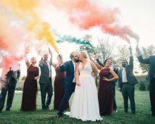 A Character-Filled Fall Wedding   Megan + Ron