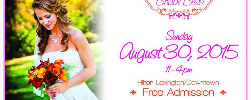 Bridal Bliss THIS Sunday!