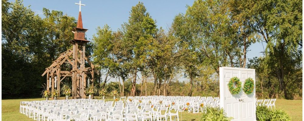 Stunning Outdoor Wedding Ceremony and Reception on a Family Farm in Lexington, KY