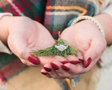Erin & Matt  |  Christmas Engagement Session at Buffalo Trace  |  Keith & Melissa Photography